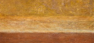"""Weathered Layers, oil on canvas, 30″ x 40,"""" Copyright © chriscoxart.com 2012"""