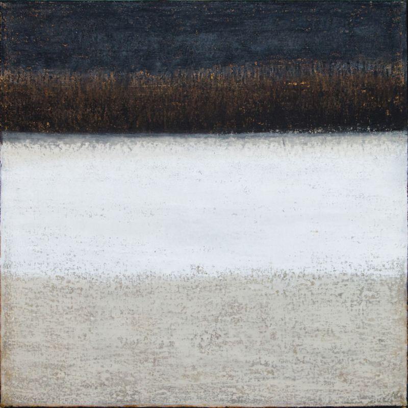 "Sandstone, oil on canvas, 20″x20,"" © Copyright chriscoxart.com 2014 (Pennsylvania)"