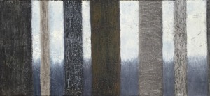 "Seven Trees, oil on canvas, 16′ x 40,"" Copyright 2015 chriscoxart.com"