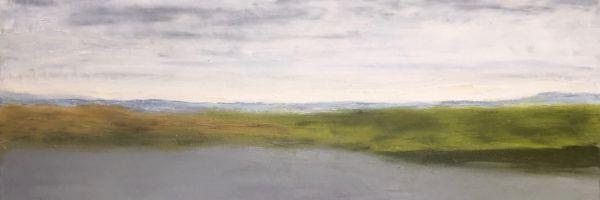 "Cove, oil on canvas, 24″ x 30,"" Copyright 2017 chriscoxart.com (Alaska)"