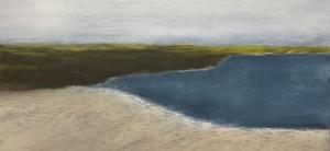 "Dune, oil on canvas, 20″ x 24,"" Copyright 2018 chriscoxart.com"
