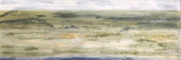 "Heath. oil on canvas, 30″ x 40,"" Copyright chriscoxart.com (Pennsylvania)"
