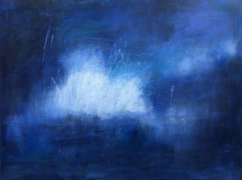 "White Light, oil on canvas, 30″ x 40,"" Copyright 2020 chriscoxart.com"