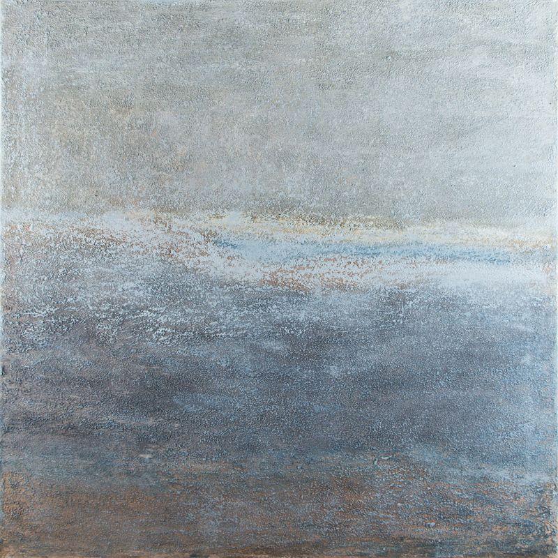 "Sandblasted, oil on canvas, 24″x24,"" Copyright © 2013 chriscoxart.com (can be seen at Bluestone Fine Art Gallery)"