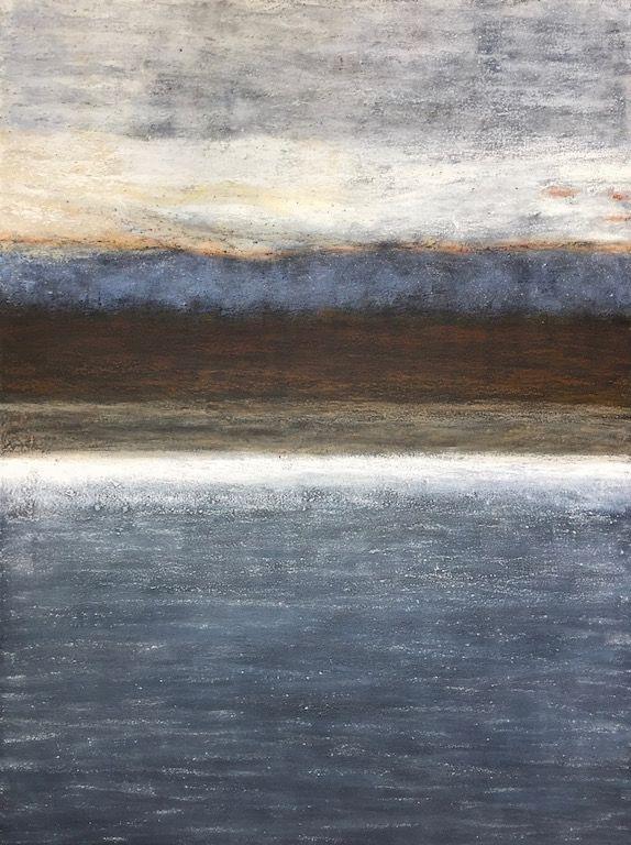 Water Worn I, oil on canvas, 36×48, Copyright © 2016 chriscoxart.com