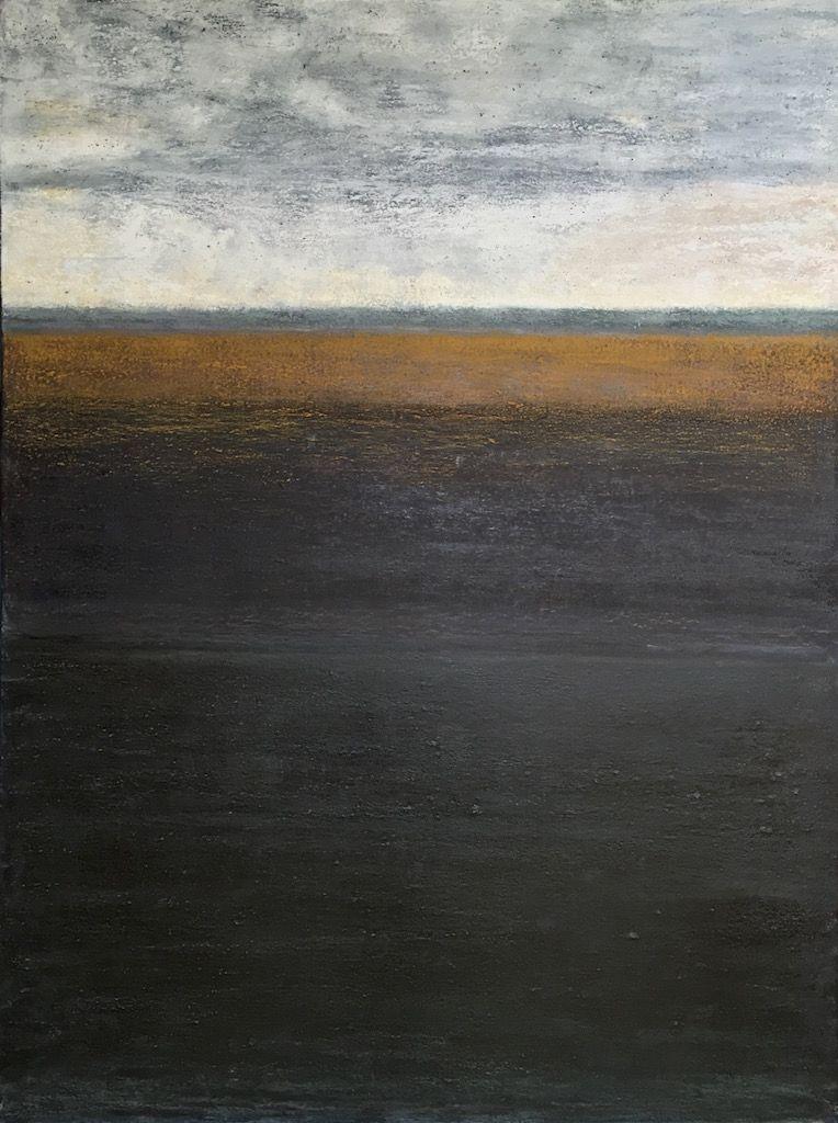 Water Worn II, oil on canvas, 36×48, Copyright © 2016  chriscoxart.com