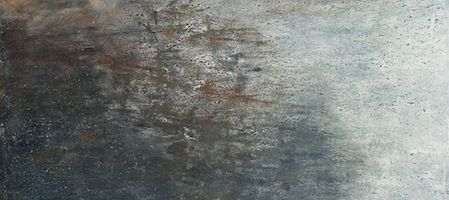 """Fossilized Reflections, oil on canvas, 48″ x36,"""" Copyright 2012 chriscoxart.com. Owned by a collector in Pennsylvania"""