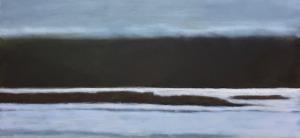 "Mull, oil on canvas, 36″x36,"" Copyright 2017 chriscoxart.com"