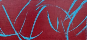 "March Nineteenth, oil on canvas, 12″ x 36,"" Copyright 2021 © chriscoxart.com"